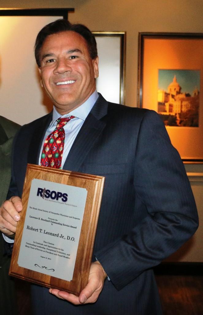 Leonard Outstanding Service Award